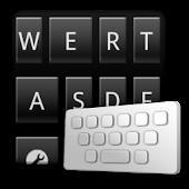 TotalBlack keyboard skin APK for Nokia