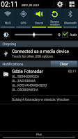 Screenshot of Gdzie Fotoradar