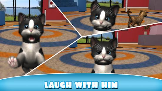 Daily kitten : virtuální kočka - náhled