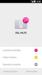 DSL Hilfe - screenshot thumbnail