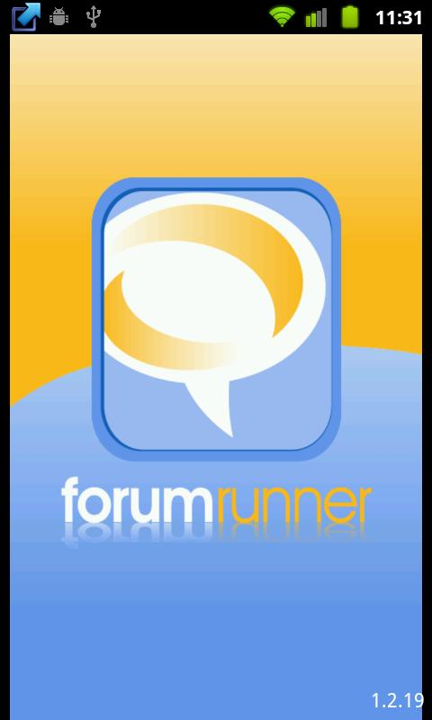Forum Runner- screenshot