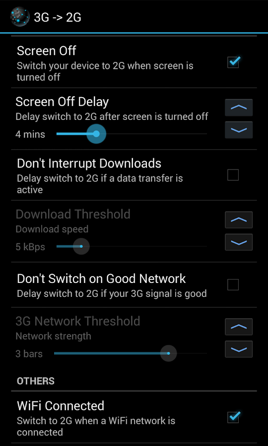Intelli3G- screenshot