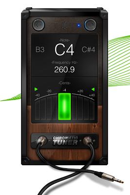 Chromatic Guitar Tuner Free: Ukulele, Bass, Violin - screenshot
