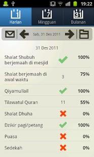 Evaluasi Ibadah- screenshot thumbnail