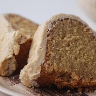 Spiced Sweet-Potato Cake with Brown Sugar Icing.