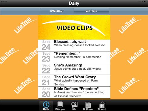 LifeTree Tablet App