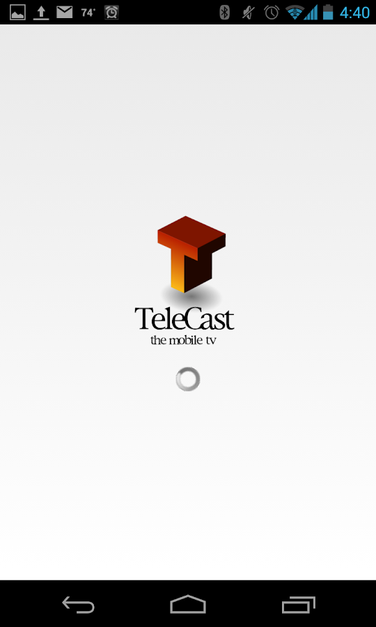 TeleCast - Online TV - screenshot