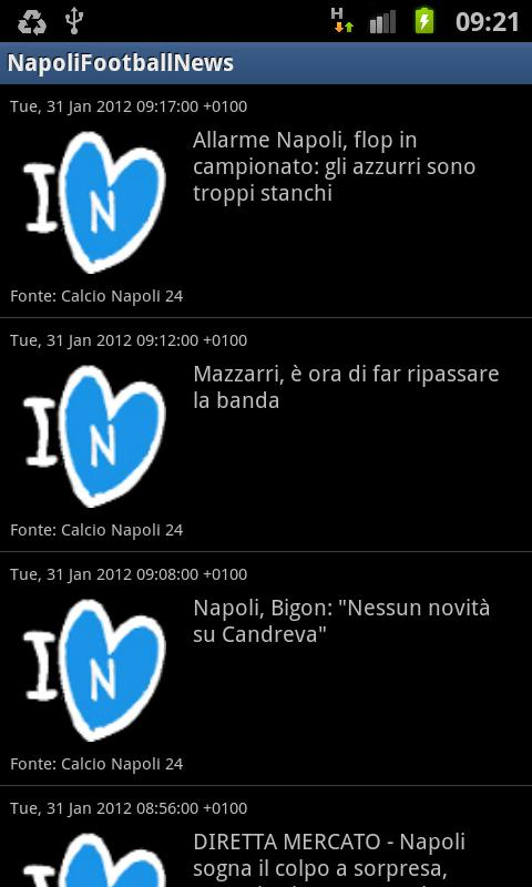 Napoli Football News- screenshot