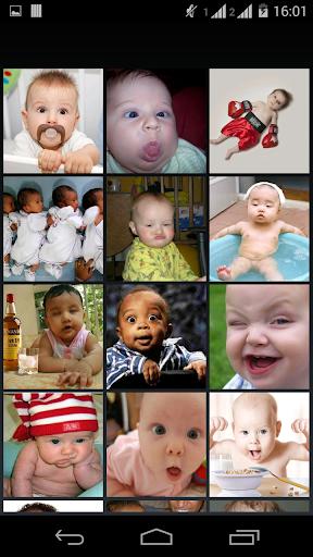 有趣的嬰兒