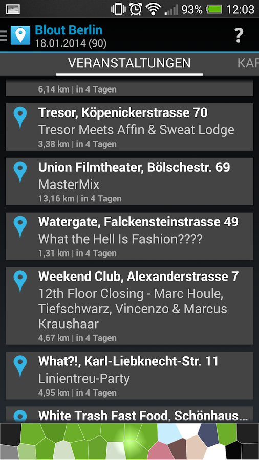 Berlin Clubs, Party & Open Air - screenshot