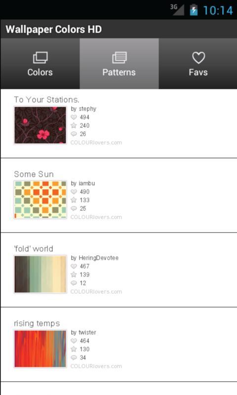 Wallpaper Patterns- screenshot
