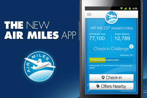 AIR MILES® Reward Program - screenshot