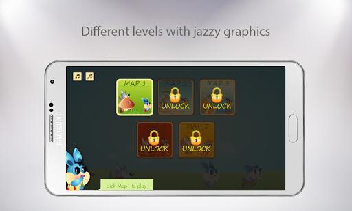 兔子跳 - 有趣的游戏
