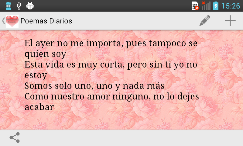 Daily poems in spanish android apps on google play daily poems in spanish screenshot solutioingenieria Image collections