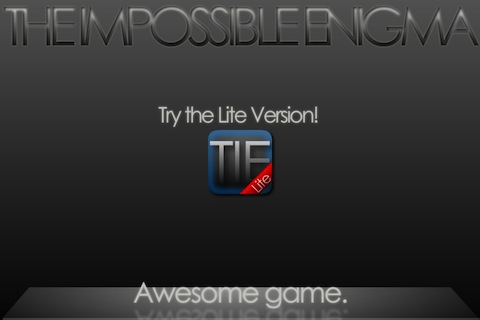 The Impossible Enigma - TIE screenshot #4