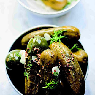 Garlic Dill Pickles.