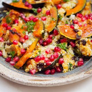 Quinoa with Acorn Squash and Pomegranate