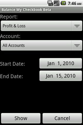 Balance My Checkbook Pro - screenshot