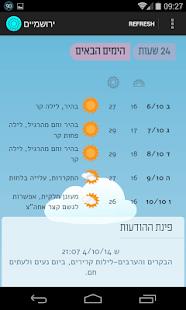 02WS Jerusalem Weather - náhled