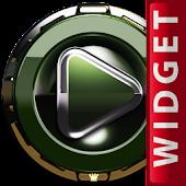 Poweramp Widget Green Kingdom