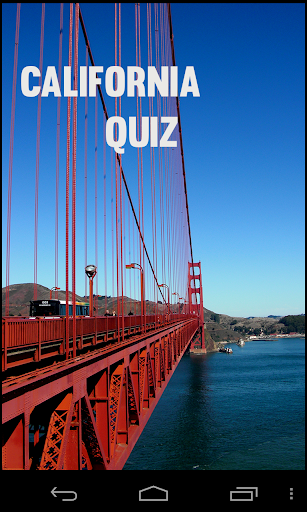California Quiz