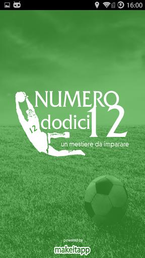 NUMERO 12 - SCUOLA PORTIERI