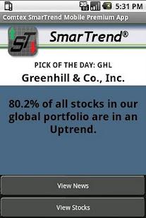 Comtex SmarTrend Premium - screenshot thumbnail