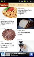 Screenshot of Ricette di cucina