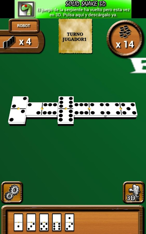 Domino 3D Online- screenshot