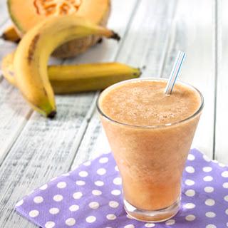Cantaloupe Banana Juice