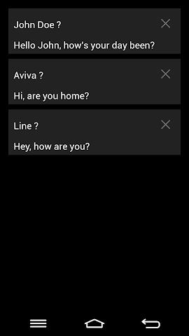 Screenshots for SMS Undo