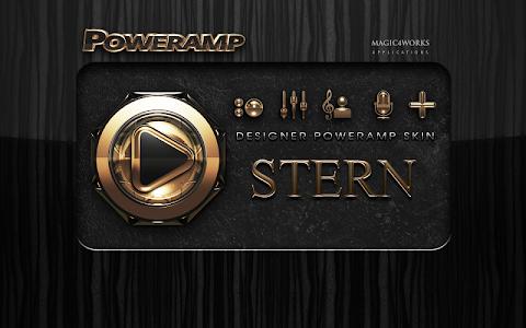 Poweramp skin Stern v1.40