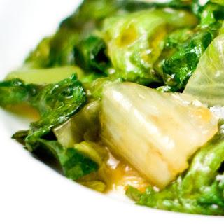 Stir Fried Lettuce