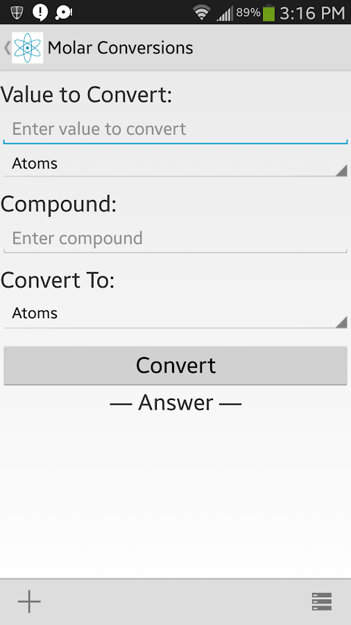 Chem Help - screenshot