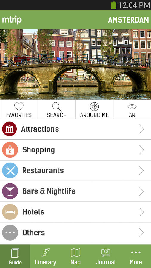 Amsterdam Travel Guide – mTrip - screenshot