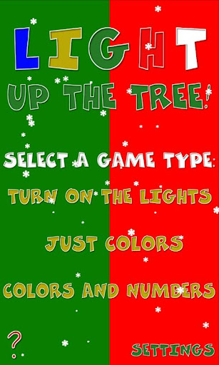 Light Up The Tree Christmas