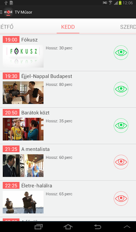 RTL Most - screenshot