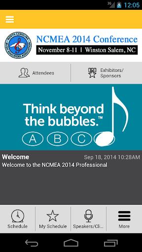NCMEA Conference 2014