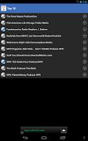 Screenshot of Podcast HD