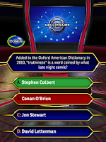 Screenshot of Who Wants To Be A Millionaire