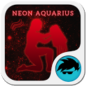 Neon Aquarius Keyboard icon