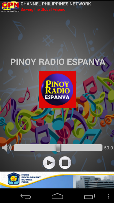 Pinoy Radio Espanya- screenshot