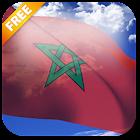 3D Morocco Flag Live Wallpaper icon