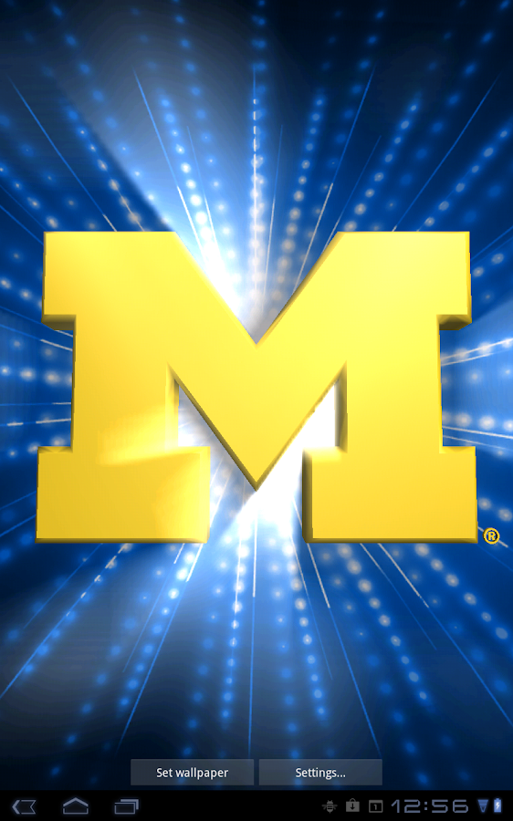 michigan wolverines live wallpaper
