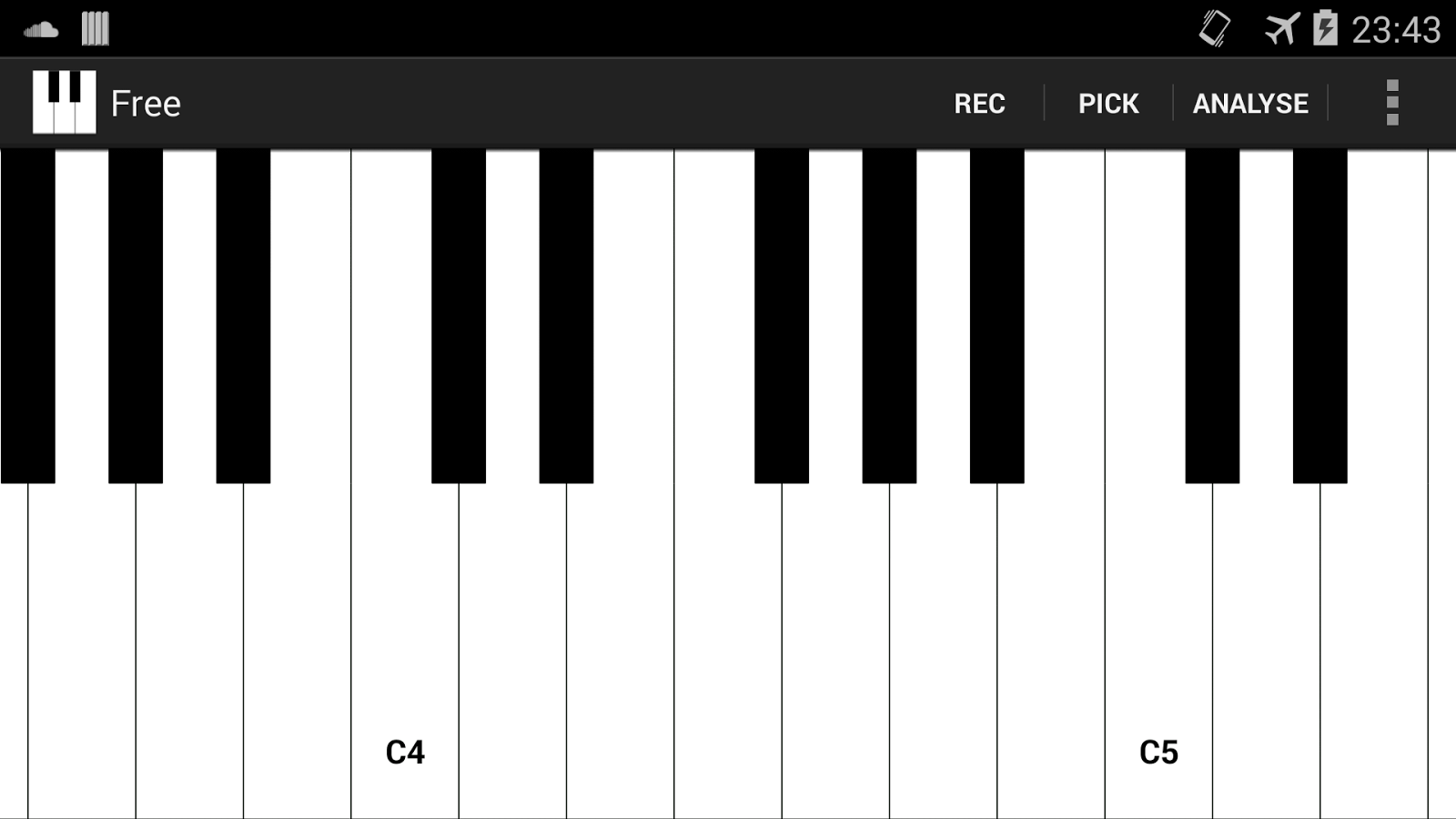 Smart piano android apps on google play smart piano screenshot hexwebz Gallery