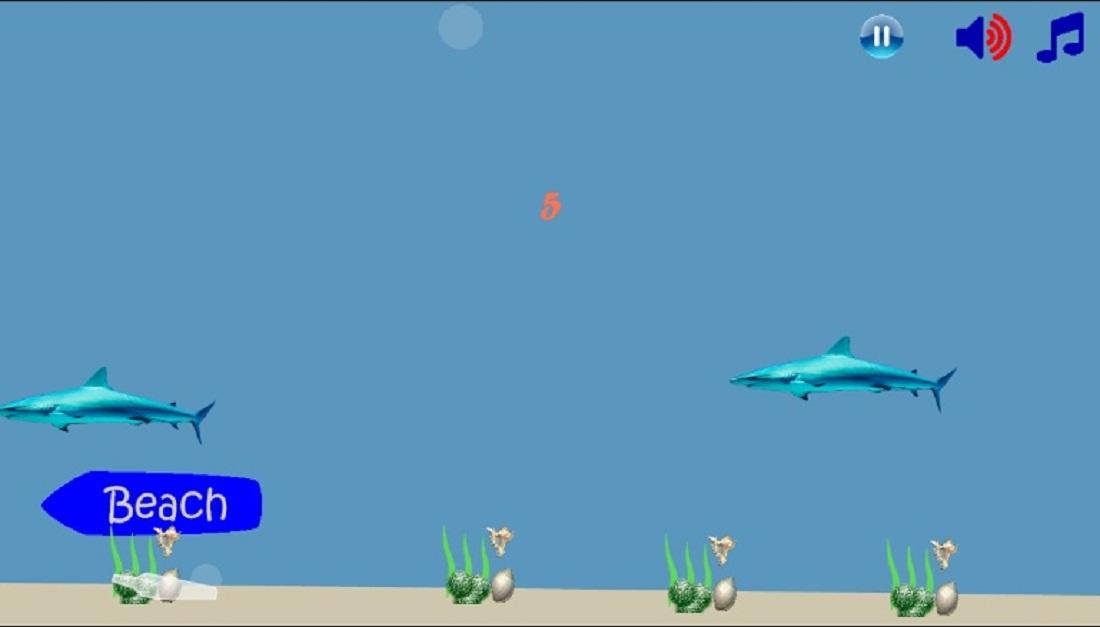 Piranha Shark Attack- screenshot