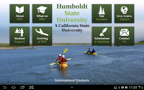 Humboldt State University- screenshot thumbnail