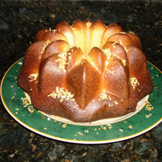 Rum-Pineapple Pound Cake.