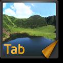 伟大的自然遗产,济州 _GalaxyTab7.0 logo