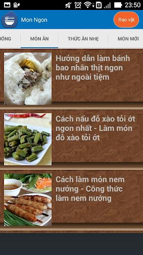 【免費書籍App】mon an hang ngay-cong thuc nau-APP點子